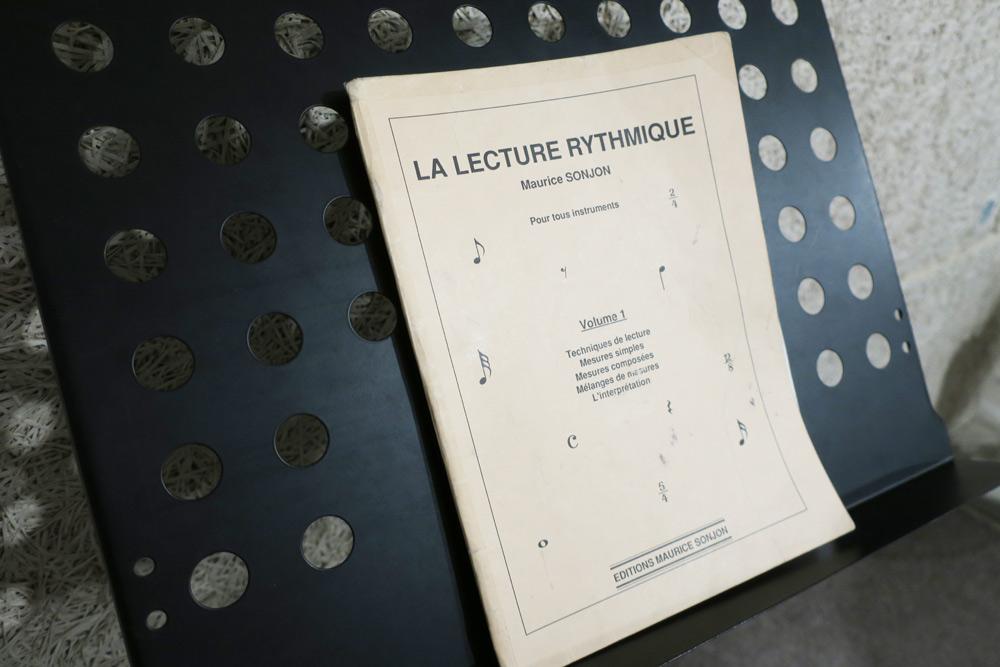 imager d'un livre de solfège rythmique