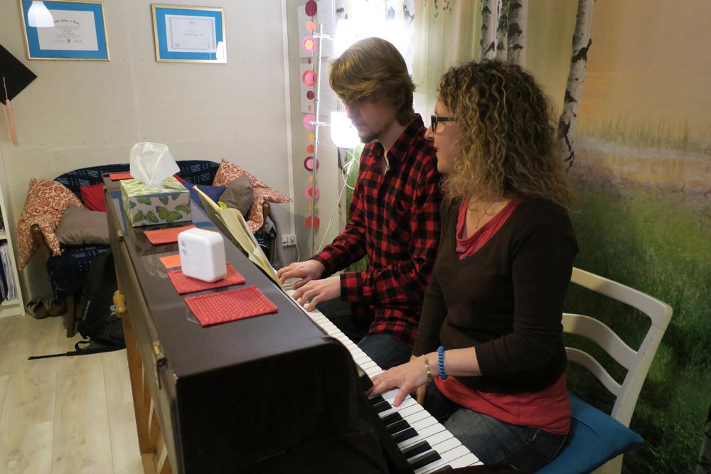 cours de piano dans une école de musique à genève