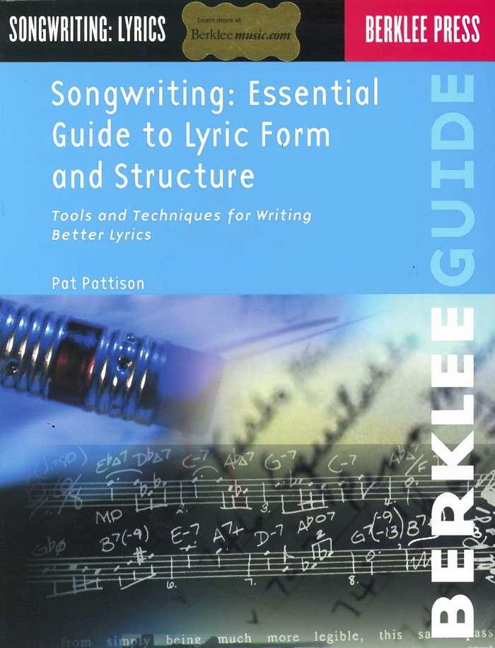 singwriting : essential guide to lyric form and strucuture