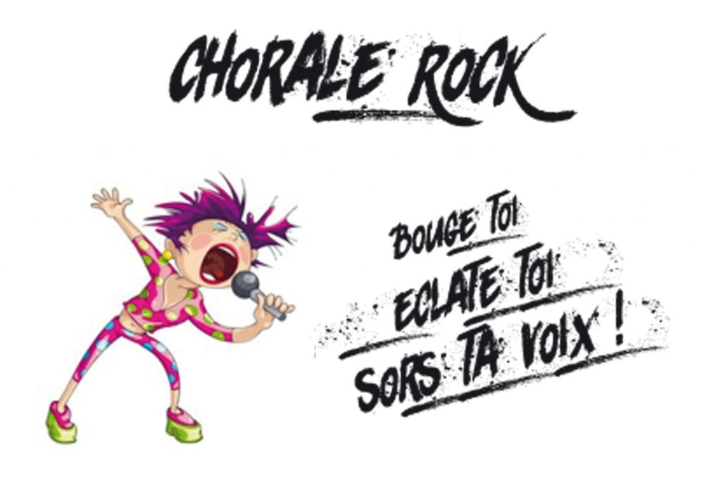 affiche de la chorale roch Drums&Co