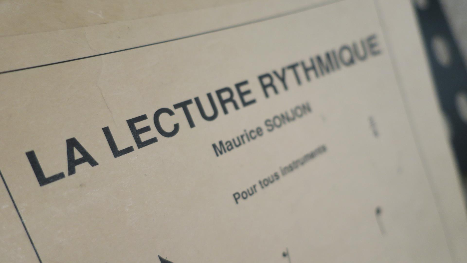 la lecture rythmique