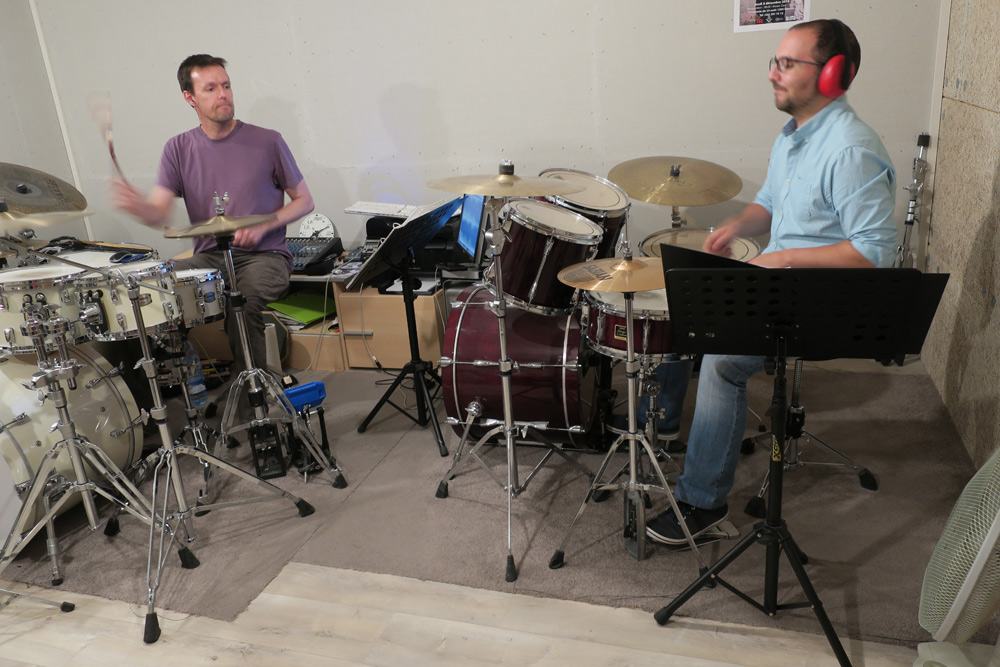 drums school in geneve